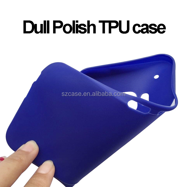 Jelly Soft Ultra Thin Dull Polish TPU Phone Cover Case for HTC Desire 530 630