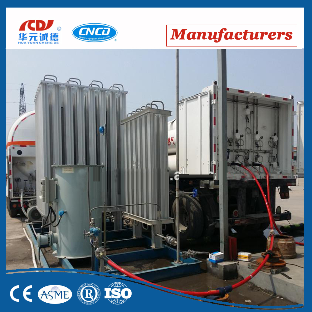Container type LNG gas Fueling station