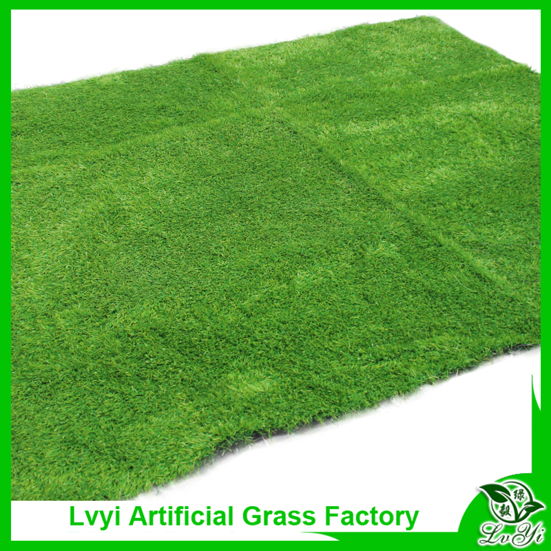 Yard and gymnasium for artificial grass turf with mat