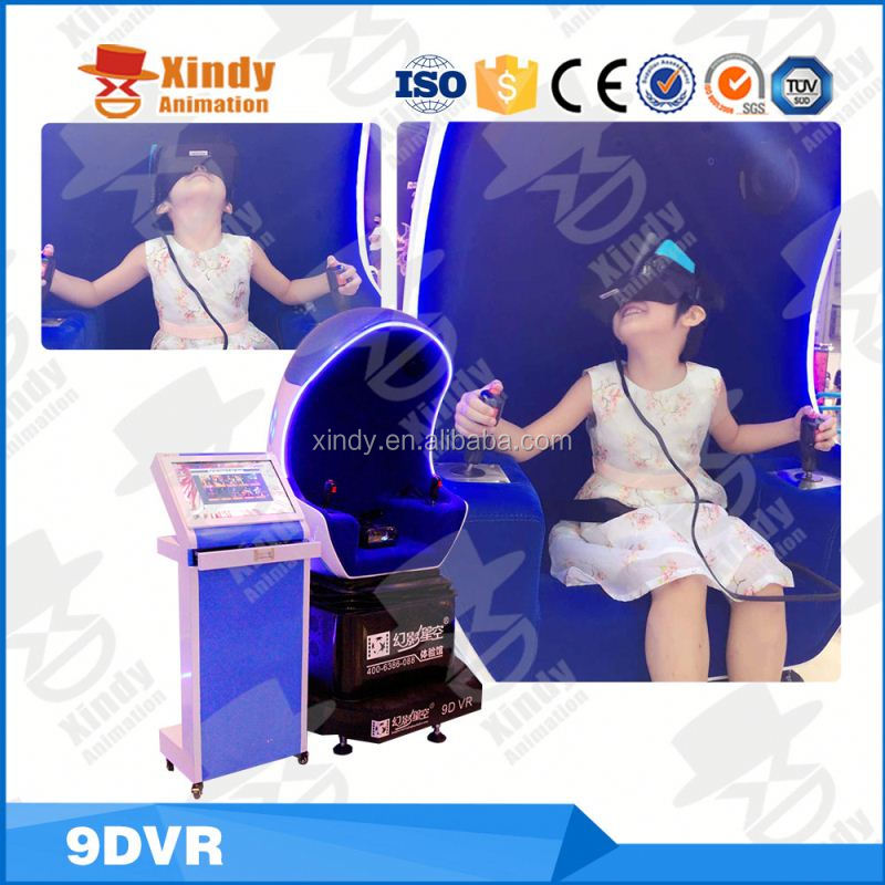 NEW model Virtual reality full 360 degree vision VR 9D cinema amusement ride