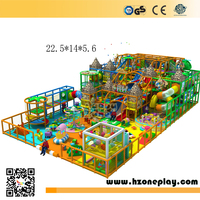 Kids indoor playground equipment and soft play set for toddle play land