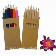 Multicolor Wooden Color Pencil Set