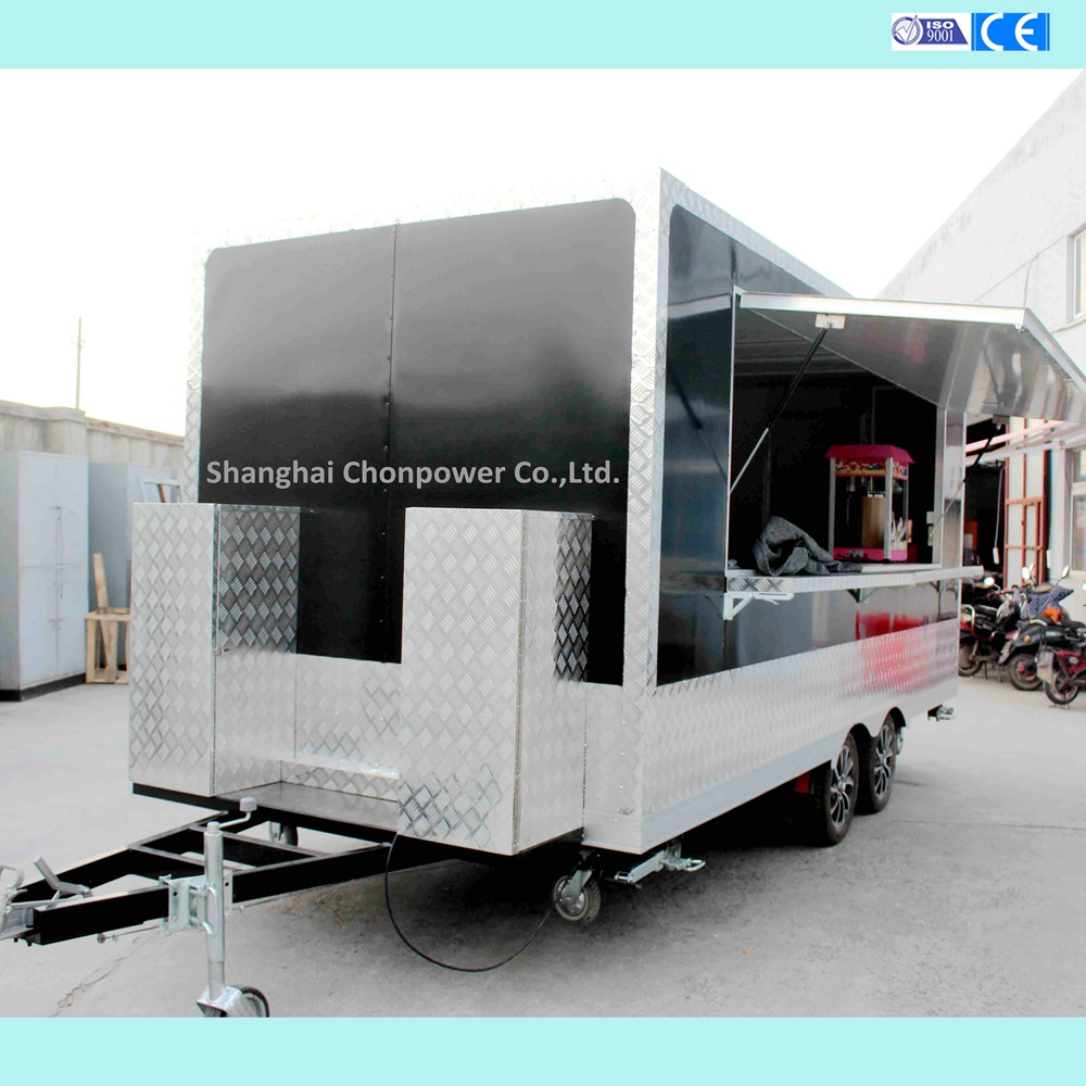 best price food trailer truck fast mobile food van With ISO9001 Certificate