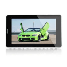 "7"" tablet pc sim card built in 3G android 4.0 capacitive touch with WIFI/GPS/Bluetooth MID"