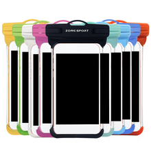2018 New clear PVC Environmental waterproof case Swimming Waterproof Case Cover For iPhone 6