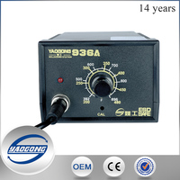 YAOGONG High temperature reballing station Scotle 936A with adjustable/variable temperature soldering iron