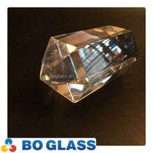 Hot sale Square /rectangular crystal for decoration in high quality
