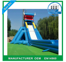 Large water slide, cheap inflatable water slides, giant dragon inflatable water slide