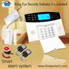 Factory directly supply CID central monitor support home burglar gsm security wireless smart security alarm system
