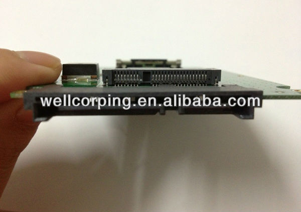 2.5 inch MSATA to SATA switching adapter