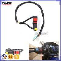 BJ-SW-008 Motorcycle Switch Ignition Electric Plastic Start On Off Switch for Universal Motorbike