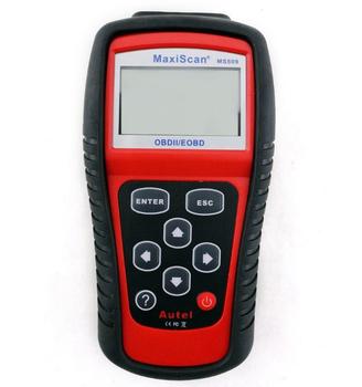 Autos EOBD OBD2 OBDII Live Data Code Reader Diagnostic Scanner Engine MS509 Kit