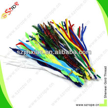 Colorful Chenille Stem or wire pipe cleaner
