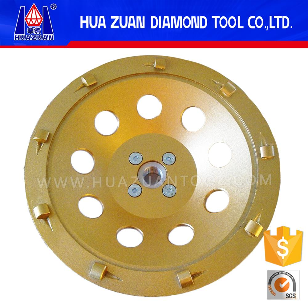 best performance PCD grinding cup wheel for concrete floor