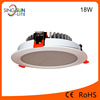newest downlight 18w 15w 12w 9w 7w 5w led downlight ,led down light smd,ip44 round 18w led recessed downlight for home shop