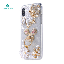 Wholesale China manufacturer Pearl PC Custom Luxury Cell Shell Silicone Mobile Cover Phone Case for Iphone X