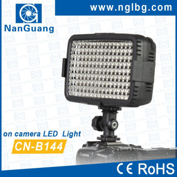 NanGuang CN-B144 LED on camera light video light for Canon 60D 600D 550D