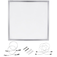 Hanging No Flicker Square 2X2FT 60W 6000K Dimmable LED Panel Light 110LM/W