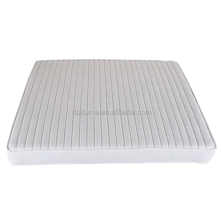 Quilted foam bed mattress