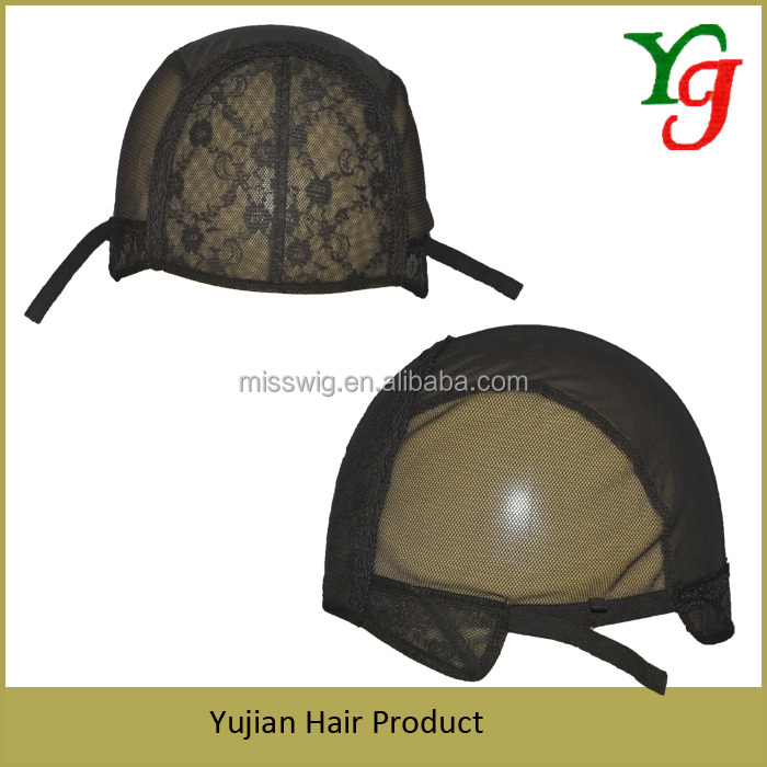 15-66 Hand Crochet Net Wig Base Cap For Wig Making