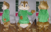 2016 hot advertising alvin chipmunks mascot costume