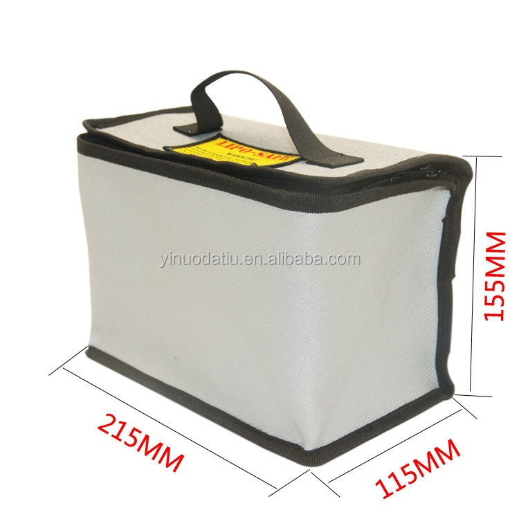 RC Drone LiPo Battery Safety Bag 215x155x155cm Safe Fireproof Guard Bag for DJI Phantom 3 Battery