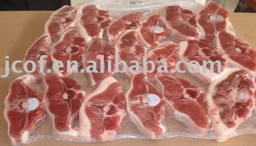 Frozen lamb chops