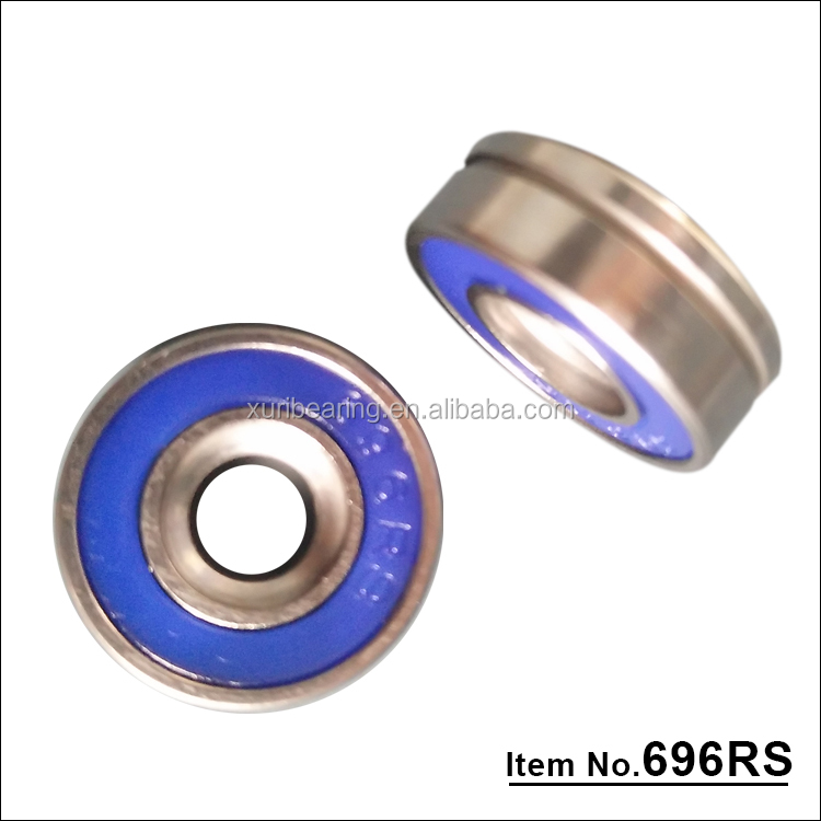 Cheap price low <strong>friction</strong> deep gloove ball bearing 696Z 696 RS carbon steel bearing