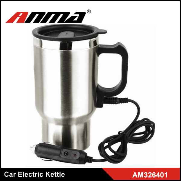 300ml Stainless Steel Automatic Shut-off 12V Car Electric Kettle