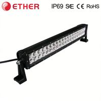 china supplier E-mark IP67 120w led off road light bar for trucks jeep