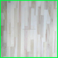 China 2015 hot sale 4000mm paulownia /poplar finger joint board for furniture