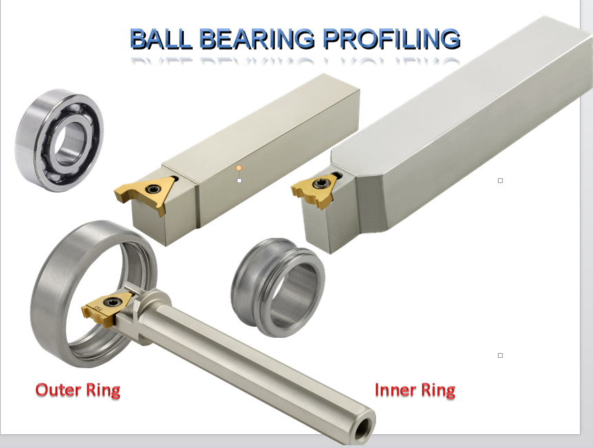 deep groove ball bearing insert