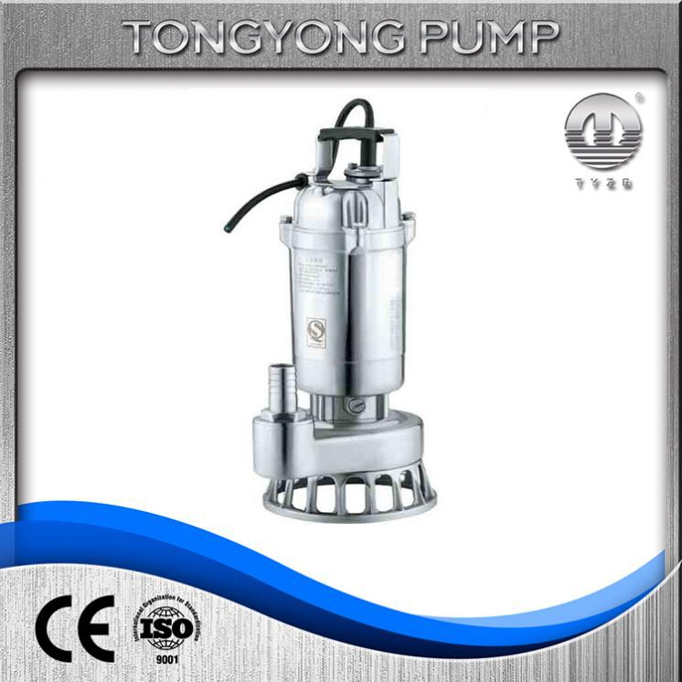 alternating pressure air pumps non clogging stainless steel submersible sewage cutting pump