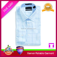2016 Wholesale China new arrival OEM 100% organic cotton cheap fashion men's dress shirt