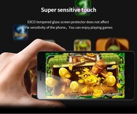 EXCO New 0.33mm Clear Transparent tempered glass screen protector for Lenovo Lemon K3 Note