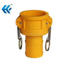 Hot sale competitive nylon/pp plastic camlock quick hose connect coupling fitting