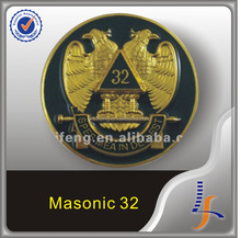 masonic 32 eagle aluminum anodizing car emblem
