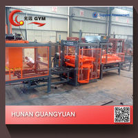 Manufacturers machine best selling fully automatic soil brick making machine