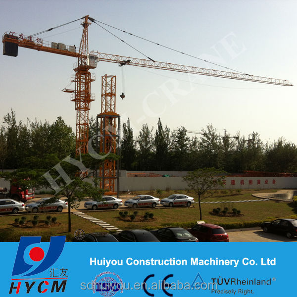 Hot Sale TC5612 6T topkit tower crane for export to Iran,Iraq