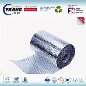Solar reflective insulated bubble foil thermal insulation