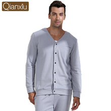 Top Sale Qianxiu couple onesie family cotton loungewear