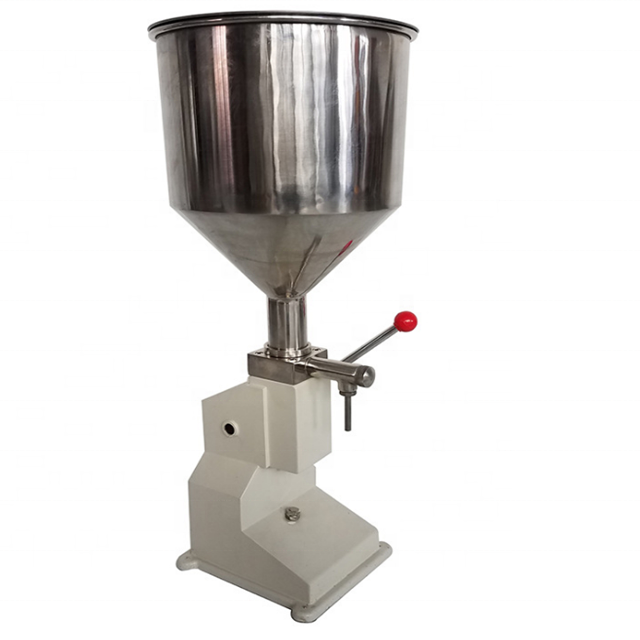 <strong>A03</strong> Small Scale Cream Honey Liquid Filling Machine