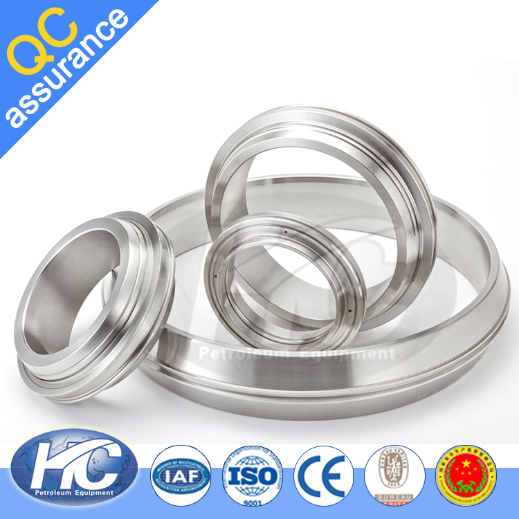 Customized ring joint gasket / ring joint / ring type gasket form china