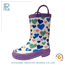 Quality-Assured Excellent Material Cheap Kids Rubber Rain Boots Waterproof
