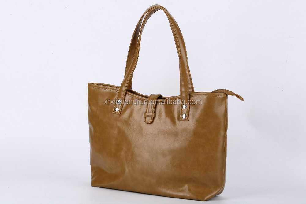 High Quality Synthetic Leather Fashion Tote bag