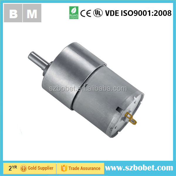rotating Advertising display usage gear motor 12v dc super motor