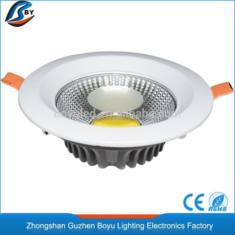 dia-casing aluminum led downlights vs halogen 15w led downlight