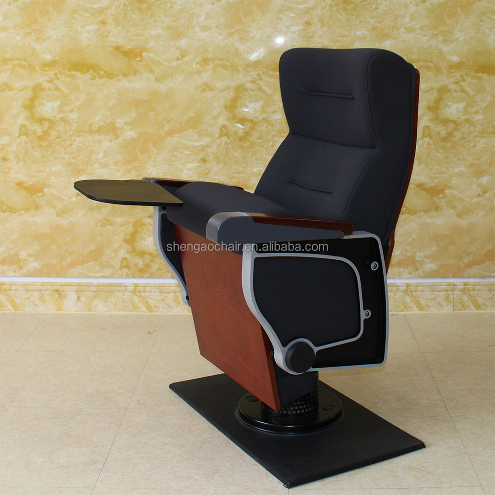 Luxury Wood Auditorium Chair Parts sillas de auditorio church chair