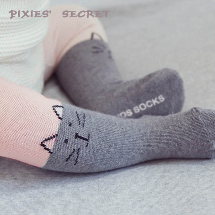 Hot custom korean cute novelty cotton tight unisex baby pantyhose