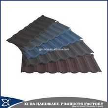 Modern Japanese style colorful metal roof tile